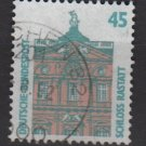 Germany 1987 - Scott 1523 used - 45 pf, Rastatt castle  (11-645)