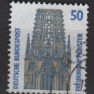Germany 1987 - Scott 1524 used - 50 pf, Freiburg Muenster (11-646)