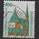 Germany 1987 - Scott 1530 used - 100pf, historic sites & objects, Altotting chapel Bavaria (12-261)