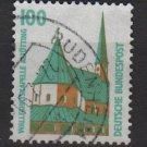 Germany 1987 - Scott 1530 used - 100pf, historic sites & objects, Altotting chapel Bavaria (12-261)