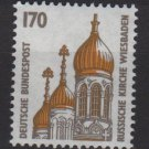 Germany 1987 - Scott 1533 MNH - 170pf, Russian Church Wiesbaden(12-613)