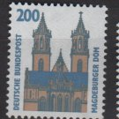 Germany 1987 - Scott 1534 MNH - 200pf, Magdeburg cathedral (12-616)