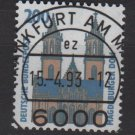 Germany 1987 - Scott 1534 usded - 200pf, Magdeburg cathedral (12-618)