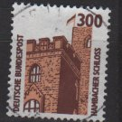 Germany 1987 - Scott 1536 used - 300pf, Hambach Castle (12-626)