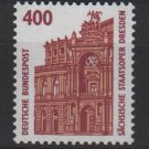 Germany 1987 - Scott 1538 MNH - 400pf,  Opera House Dresden (F-598)