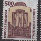 Germany 1987 -Scott 1540 used - 500pf, State Theater Cottbus (12-651)