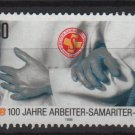 Germany 1988 - Scott 1567 used - 80pf, Samaritan Association (i- 261)