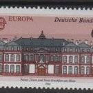 Germany 1990 - Scott 1601 MNH- 60 pf, Europa, Post office building (i-331)