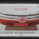 Germany 1990 - Scott 1605 used -  60pf,Life Boat institution (Red-634)