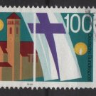 Germany 1990 - Scott 1607 used- 100pf, Rummelsberg Diaconal Institution (5-108)
