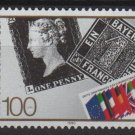 Germany 1990 - Scott 1614 MNH - 100pf, 1st Postage stamp Anniv (13-51)