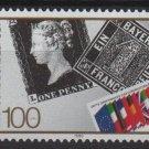 Germany 1990 - Scott 1614 MNH - 100pf, 1st Postage stamp Anniv (13-51)