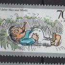Germany 1990 - Scott B690 MNH - 70 + 30 pf, Max & Moritz (13-63)
