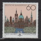 Germany 1991 - Scott 1621 MNH - 100pf, Hannover 750th anniv (E-612)