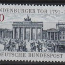 Germany 1991 - Scott 1622 MNH - 100pf, Brandenburg Gate (13-73)