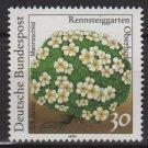 Germany 1991 - Scott 1630 MNH - 30 pf, Flowers, Mannsschild (13-94)