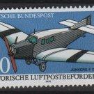 Germany 1991 - Scott 1638 MNH - 30pf,  Junkers F13 (13-112)