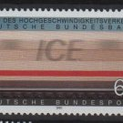 Germany 1991 - Scott 1646 MNH- 60 pf, ICE inter city railway (13-135)