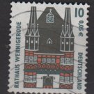 Germany 1991 - Scott 1656 used - 10 pf, Wernigerode (12-661)