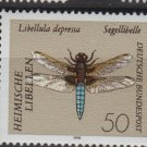Germany 1991 - Scott 1670 MNH - 50pf, Dragonfly  (13-141)