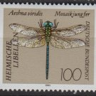 Germany 1991 - Scott 1677 MNH - 100pf, Dragonfly (B-376)