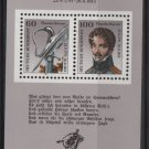 Germany 1991 - Scott 1685 sheet of 2 MNH - Theodor Korner (13-147)