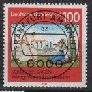 GERMANY 1991 - Scott 1690 CTO- 100 pf,Sorbische Sagen  (13-151)