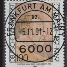 GERMANY 1991 - Scott 1693 CTO- 100pf, Otto Dix painting   (13-152)