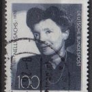 GERMANY 1991 - Scott 1695 used - 100 pf, Nelly Sachs    (13-153)