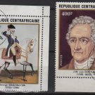 Central African Republic 1982 - Scott 517-519(4) - Anniversaries (L-645)