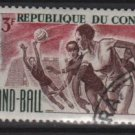 People's Republic of CONGO 1966 -  Scott 145 CTO - 3fr, Handball (13-217)