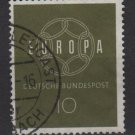 Germany 1959 - Scott 805 used - 10 pf, Europa  (13-271)