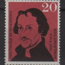 Germany 1960 - Scott 809 MNH - 20 pf, Philipp Melanchthon (13-277)