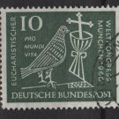 Germany 1960 - Scott 811 used - 10pf, Eucharistic World Congress (13-281)