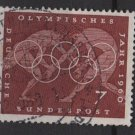 Germany 1960 - Scott 813 used - 7 pf, Olympic games Rome (13-284)
