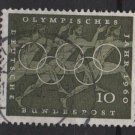 Germany 1960 - Scott 814 used - 10 pf, Olympic games Rome (13-285)