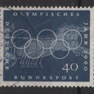 Germany 1960 - Scott 816 used - 40 pf, Olympic games, Rome (13-290)