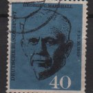Germany 1960 - Scott 821 used - 40pf, George C Marshall (12-299)