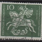 Germany 1960 - Scott 823 used - 10pf, St George, Boy scout (12-302)