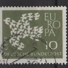 Germany 1961 - Scott  844 used - 10 pf,  Europa (12-309)