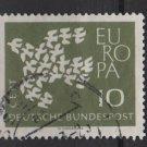 Germany 1961 - Scott  844 used - 10 pf,  Europa (12-309)