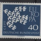 Germany 1961 - Scott  845 MNH - 40 pf,  Europa (13-293)