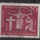 Germany 1962 - Scott  850 used - 20pf, Catholics day (13-300)