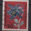 Germany 1963 - Scott  859 used - 20 pf, Flora Philathelic exhibition (13-308)