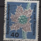 Germany 1963 - Scott  860 used - 40 pf, Flora Philathelic exhibition (F-326)