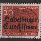 Germany 1963 - Scott  861 used - 20pf, Heidelberg Cathechism (13-310)