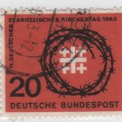 Germany 1963 - Scott 866 used - 20pf, evangelical Synod (13-328)