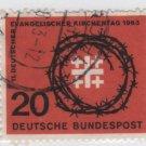 Germany 1963 - Scott 866 used - 20pf, evangelical Synod (13-328)