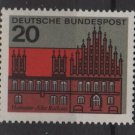 Germany 1964 - Scott 869 MNH - 20 pf, Hanover town Hall (13-315)