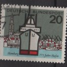 Germany 1964 - Scott  870 used - 20 pf, Hamburg Harbor (13-317)